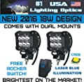 Tractor led headlight kits and accessories